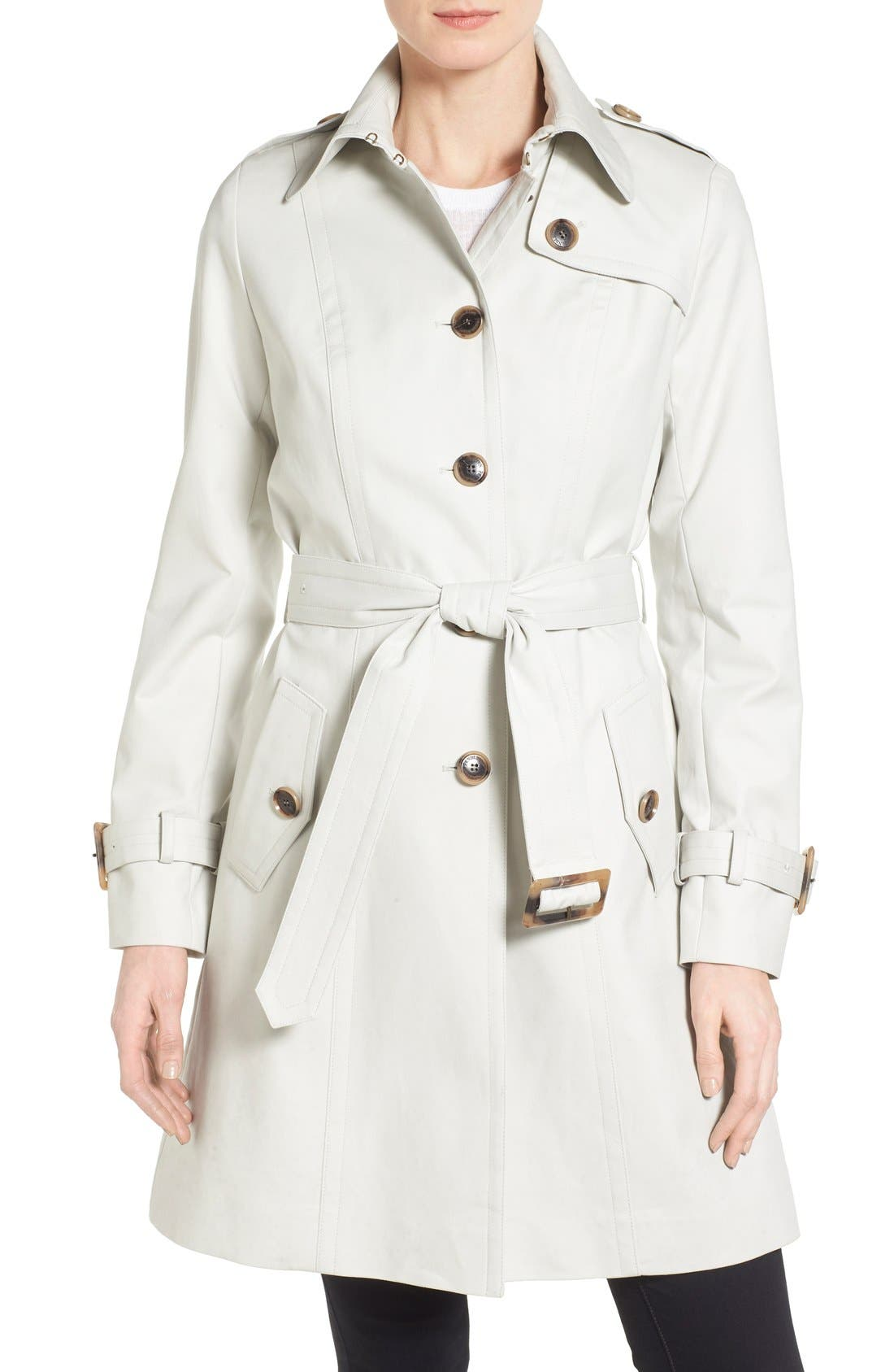Alternate Image 1 Selected - Pendleton 'Pacific Crest' Single Breasted Trench Coat (Regular & Petite)