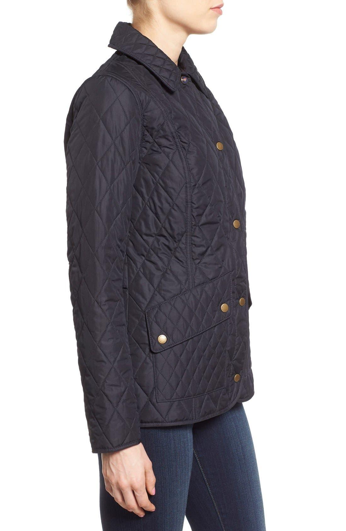 Alternate Image 3  - Barbour 'Herterton' Lightweight Diamond Quilt Jacket