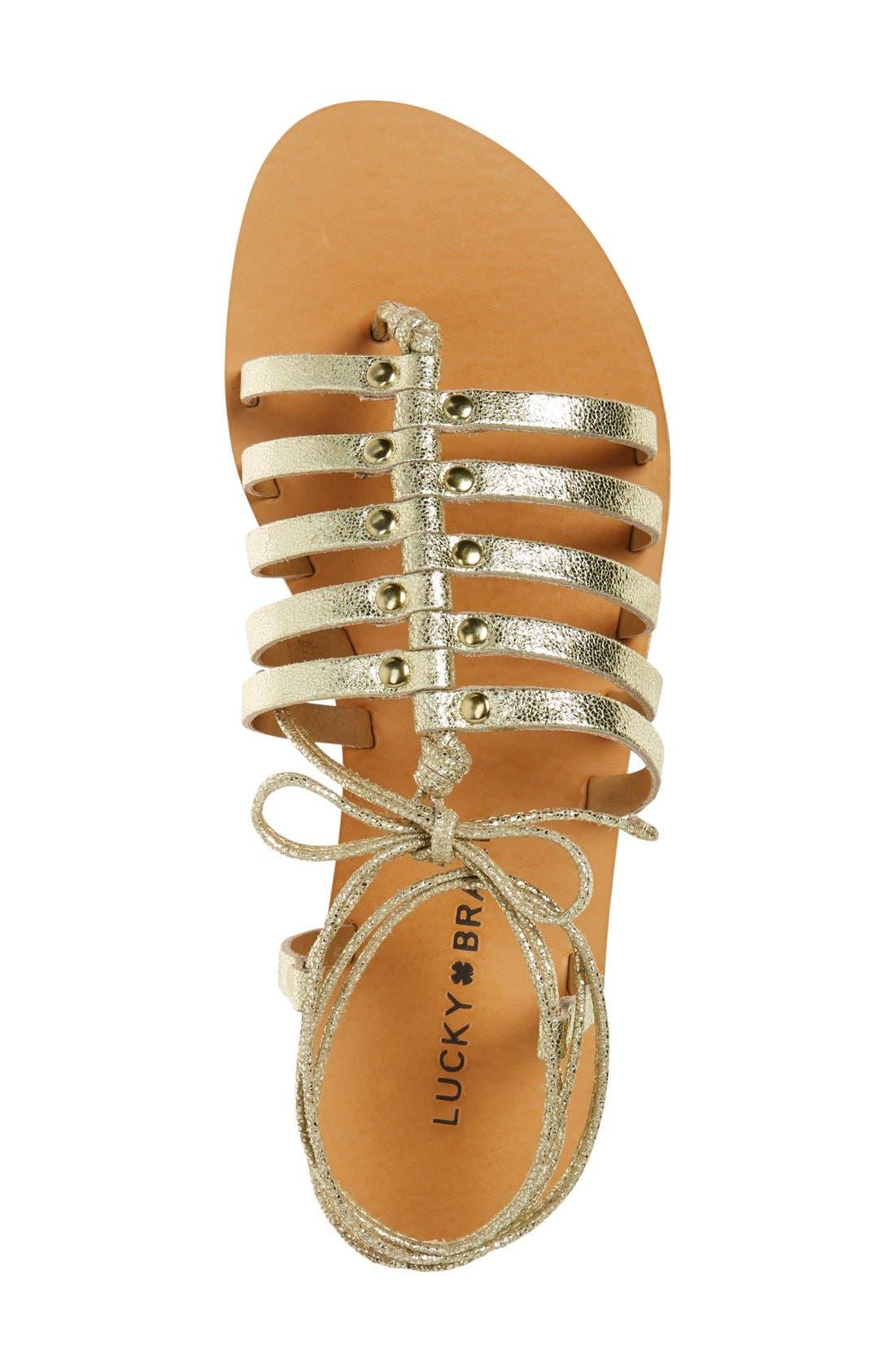 Alternate Image 3  - Lucky Brand 'Colette' Gladiator Sandal (Women)