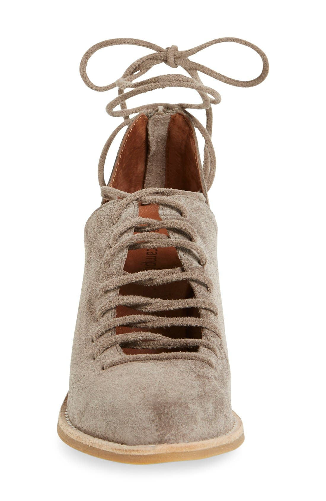 Alternate Image 3  - Jeffrey Campbell 'Amata-Tie' Lace-Up Bootie (Women)