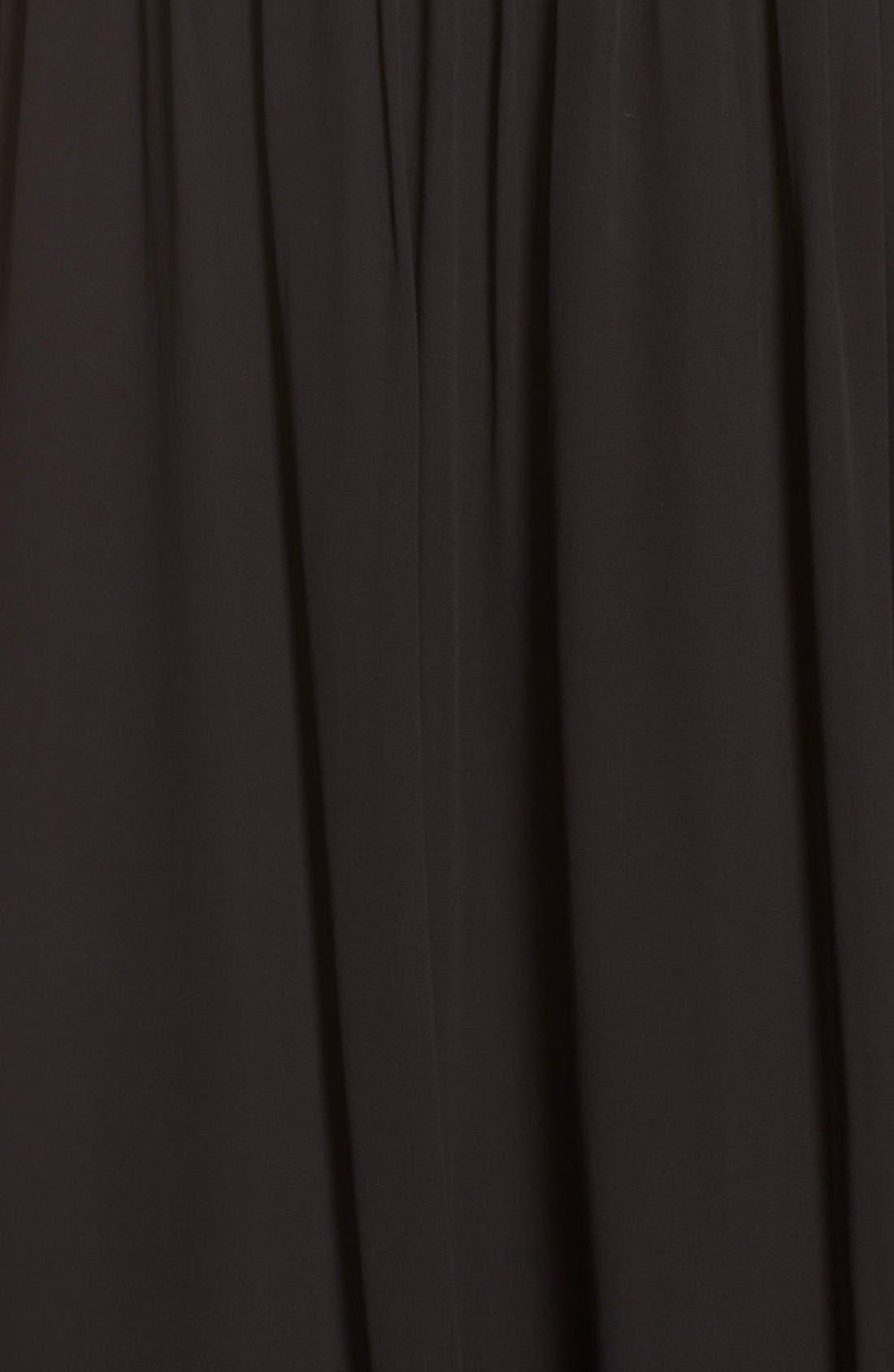 Alternate Image 5  - Parker 'Cassey' Embellished Bodice Halter Style Gown