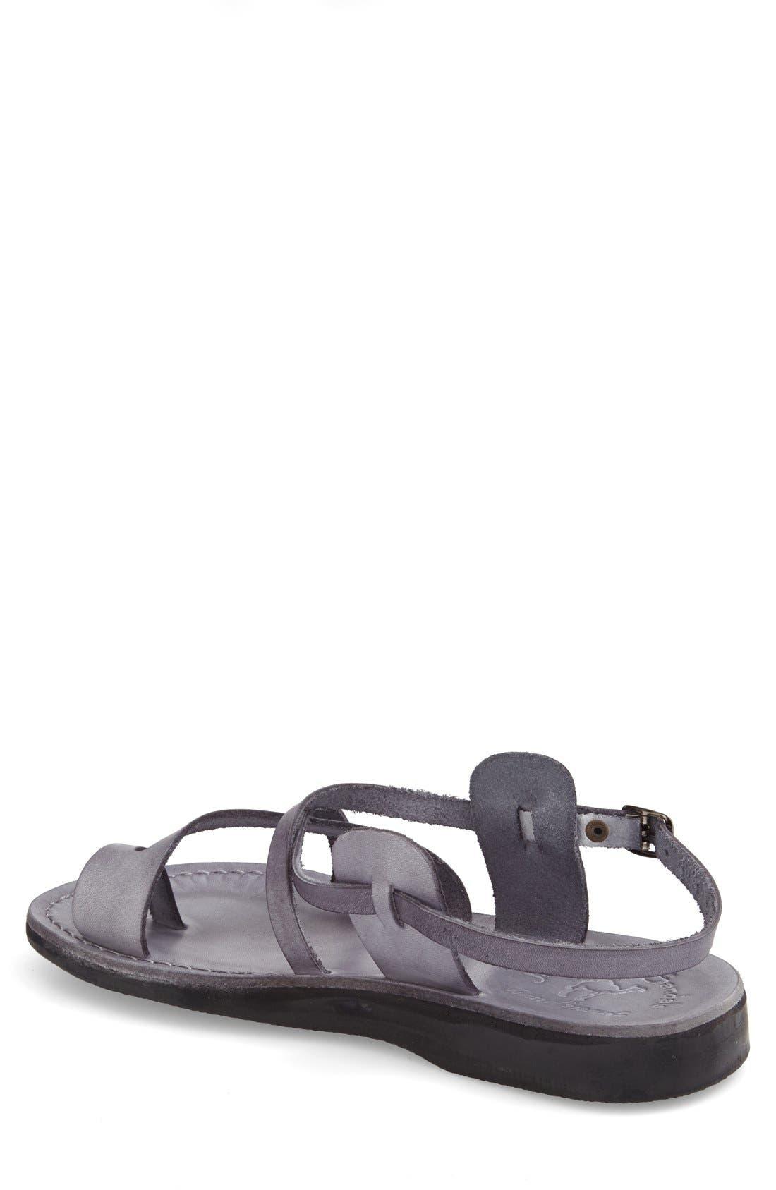 Alternate Image 2  - Jerusalem Sandals 'The Good Shepherd' Leather Sandal (Men)