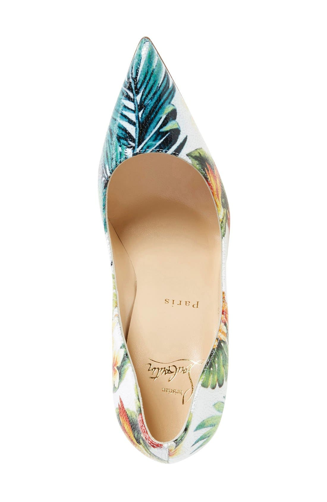 Alternate Image 3  - Christian Louboutin 'So Kate - Hawaii' Print Pointy Toe Pump (Women)