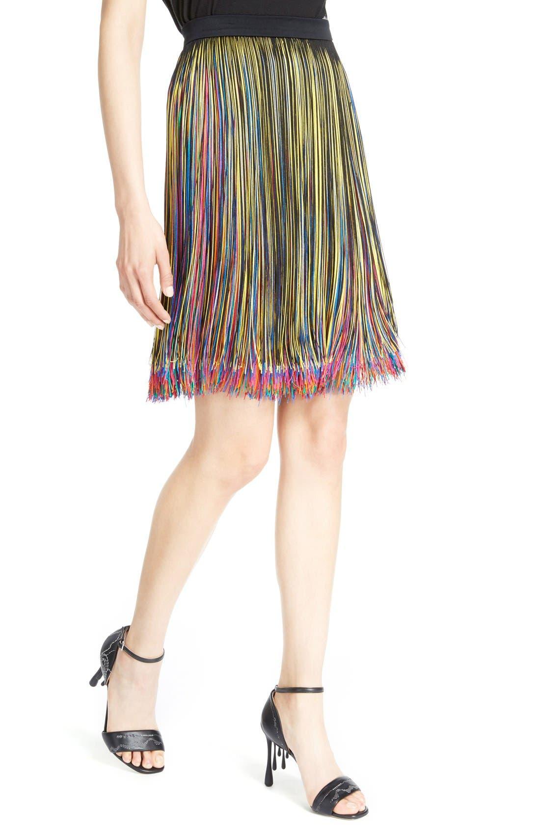 Alternate Image 5  - Christopher Kane Rainbow Fringe Skirt