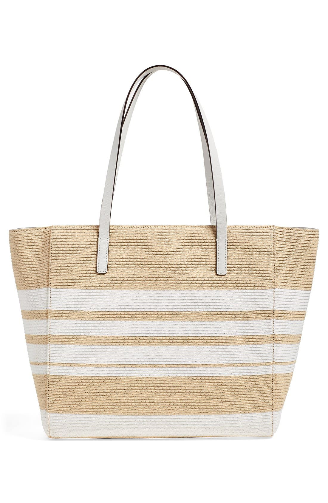 Alternate Image 3  - kate spade new york 'clement street - blair' woven straw tote
