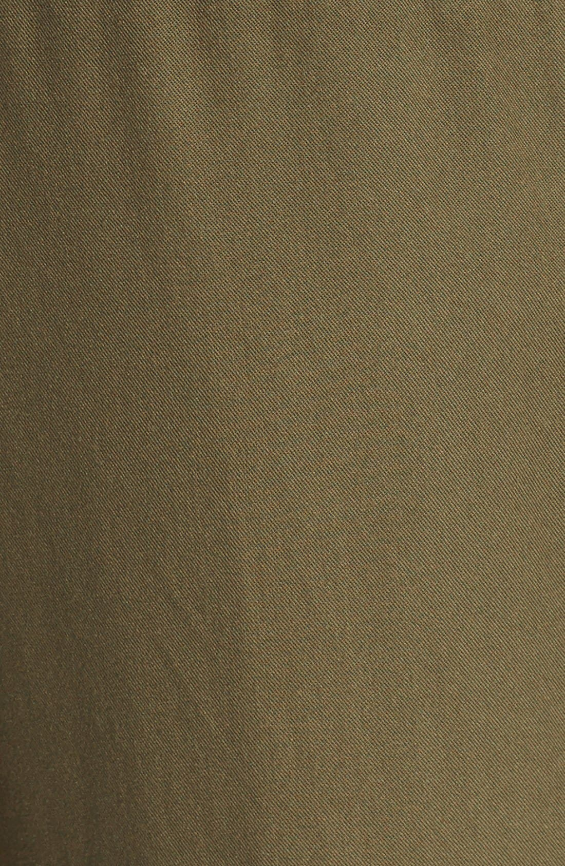 Crop Cargo Pants,                             Alternate thumbnail 5, color,                             Army