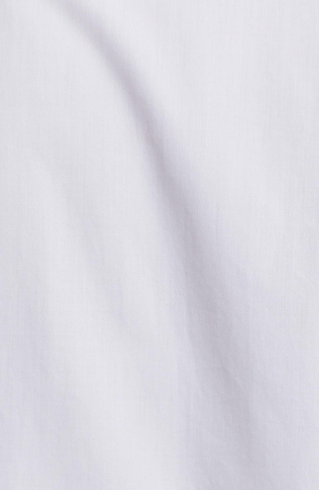 Alternate Image 3  - Alexander McQueen Cotton Poplin Ruffle Blouse