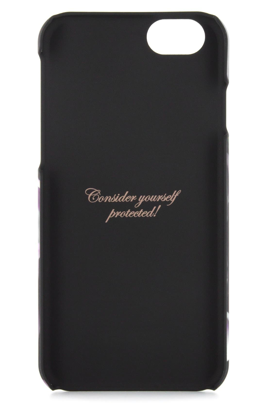 Alternate Image 2  - Ted Baker London Ethereal Posie iPhone 6/6s Case