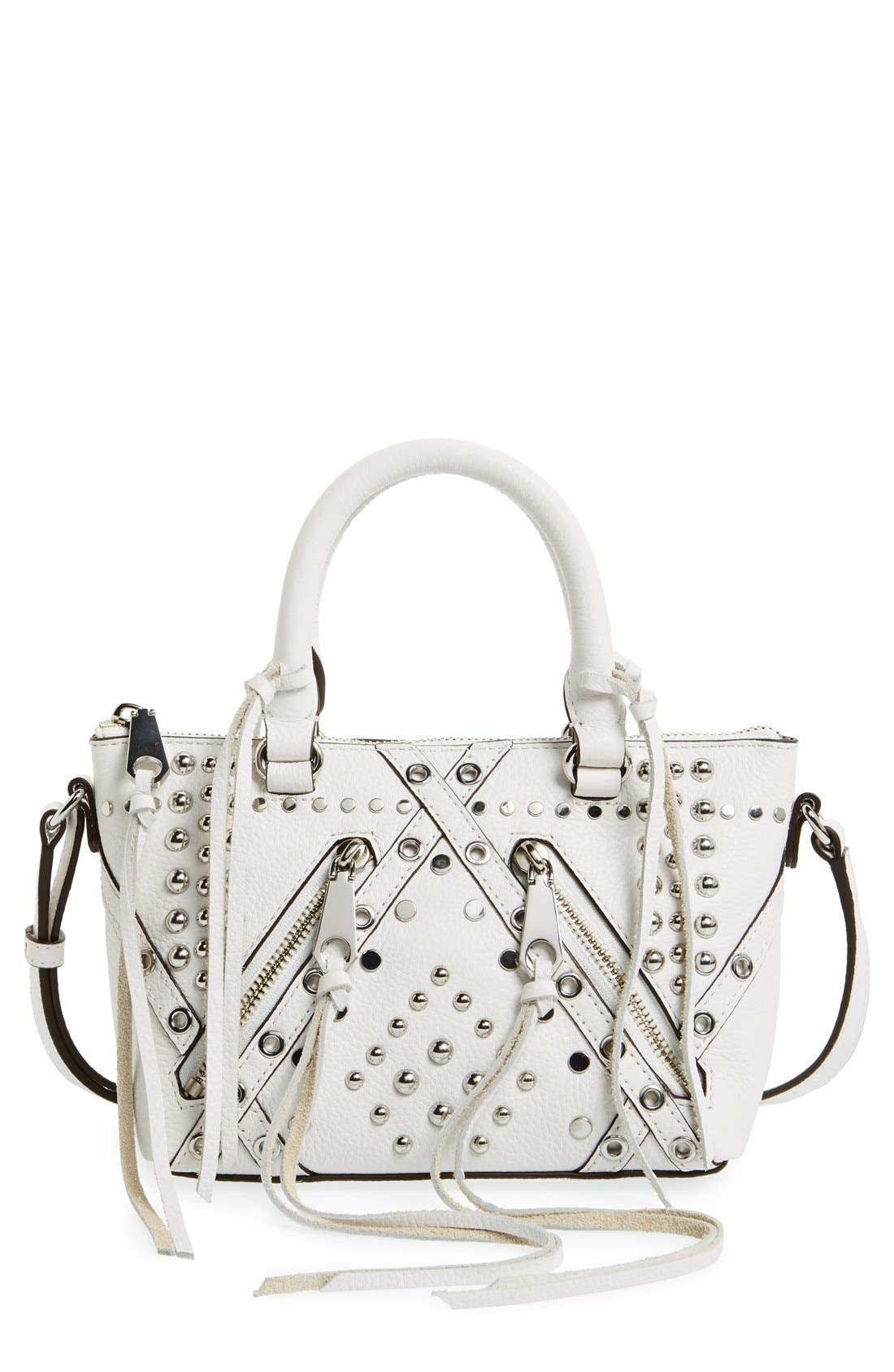 Alternate Image 1 Selected - Rebecca Minkoff 'Micro Moto' Satchel