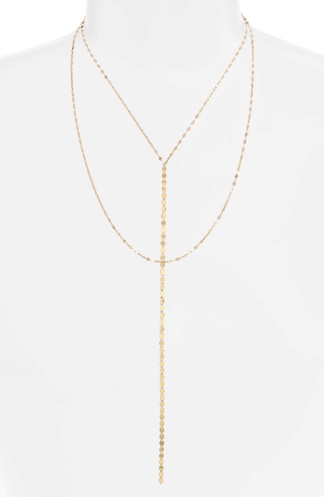 Lana Jewelry 'Nude Blake' Multistrand Drop Necklace