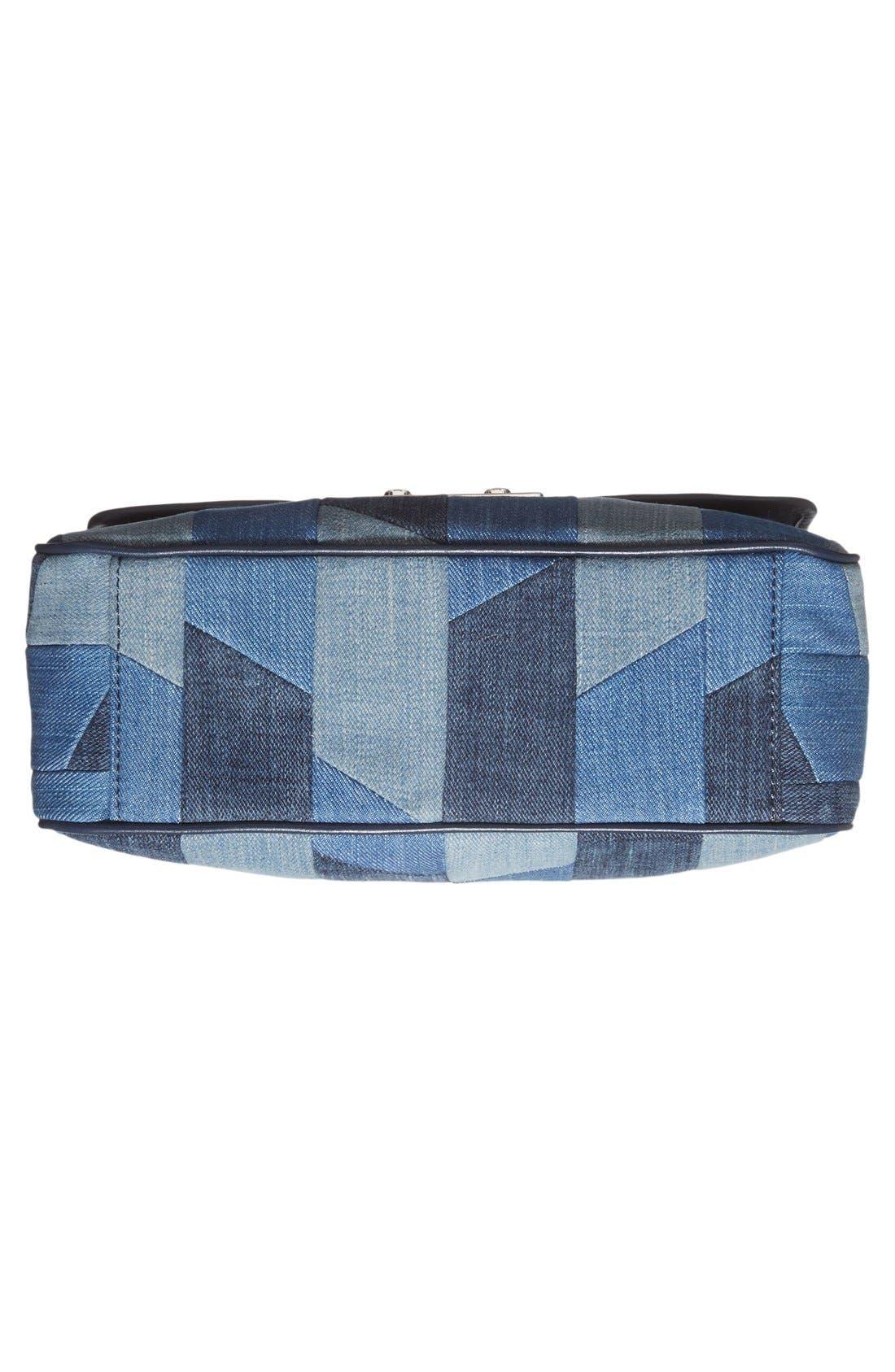 Alternate Image 6  - MICHAEL Michael Kors 'Large Sloan' Patchwork Denim Shoulder Bag