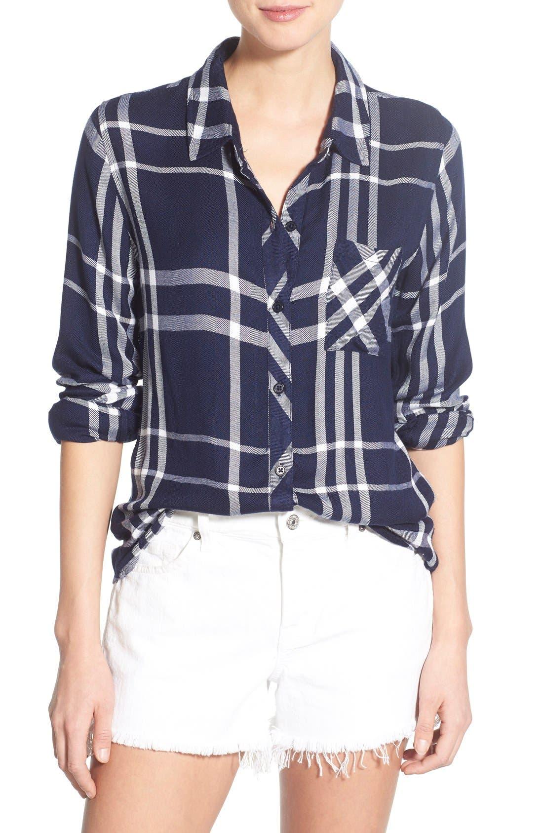 Alternate Image 1 Selected - Rails Hunter Plaid Shirt