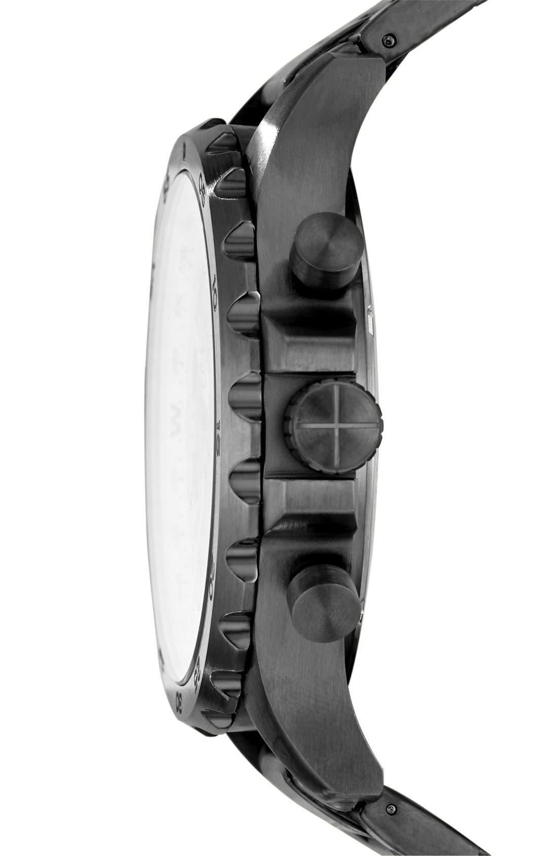 Alternate Image 2  - Fossil 'Nate' Chronograph Bracelet Watch, 50mm