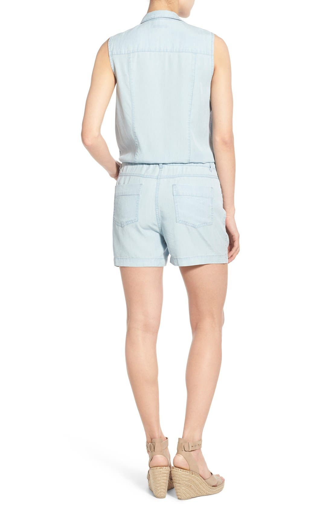 Alternate Image 2  - KUT from the Kloth 'Valentina' Denim Romper