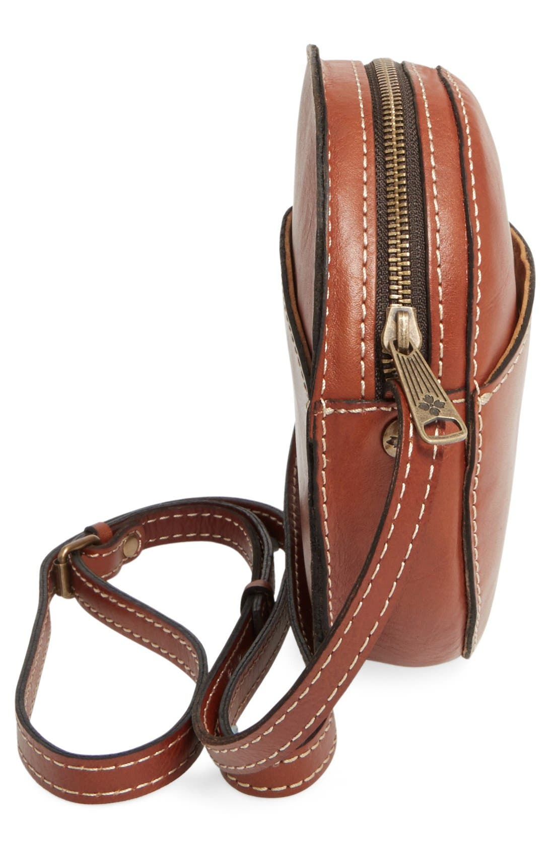 Alternate Image 5  - Patricia Nash 'Small Scafati' Leather Crossbody Bag