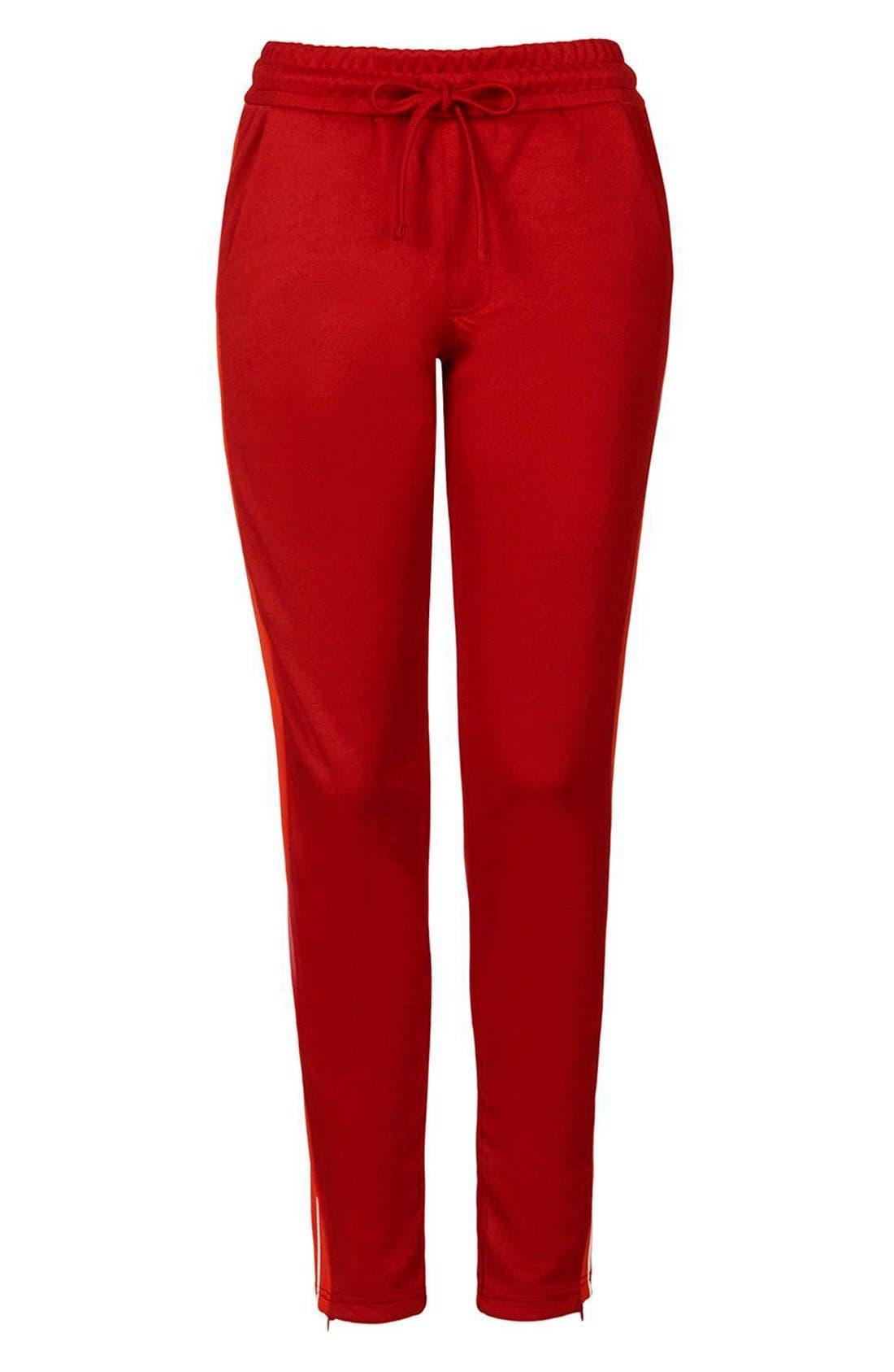 Alternate Image 4  - Topshop Side Stripe Track Pants