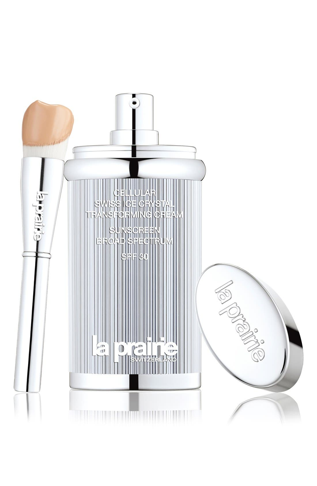 La Prairie Cellular Swiss Ice Crystal Transforming Cream Sunscreen Broad Spectrum SPF 30