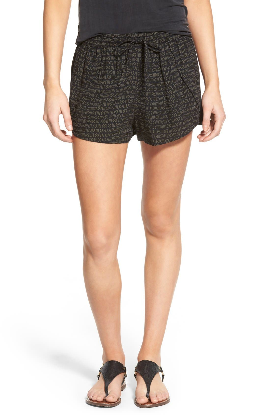 Alternate Image 1 Selected - BP. Woven Print Shorts