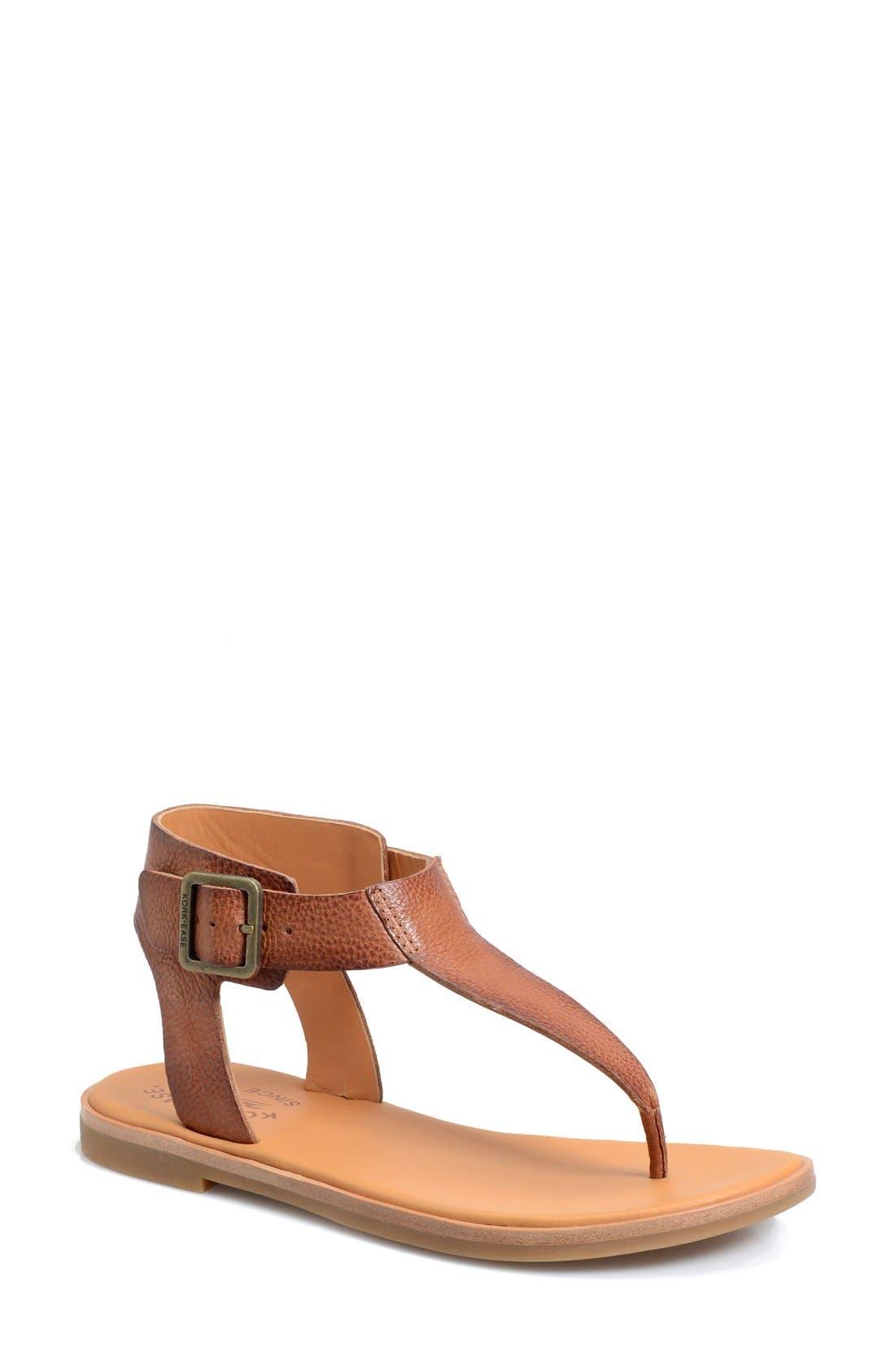 Alternate Image 1 Selected - Kork-Ease® 'Catriona' Flat Sandal (Women)