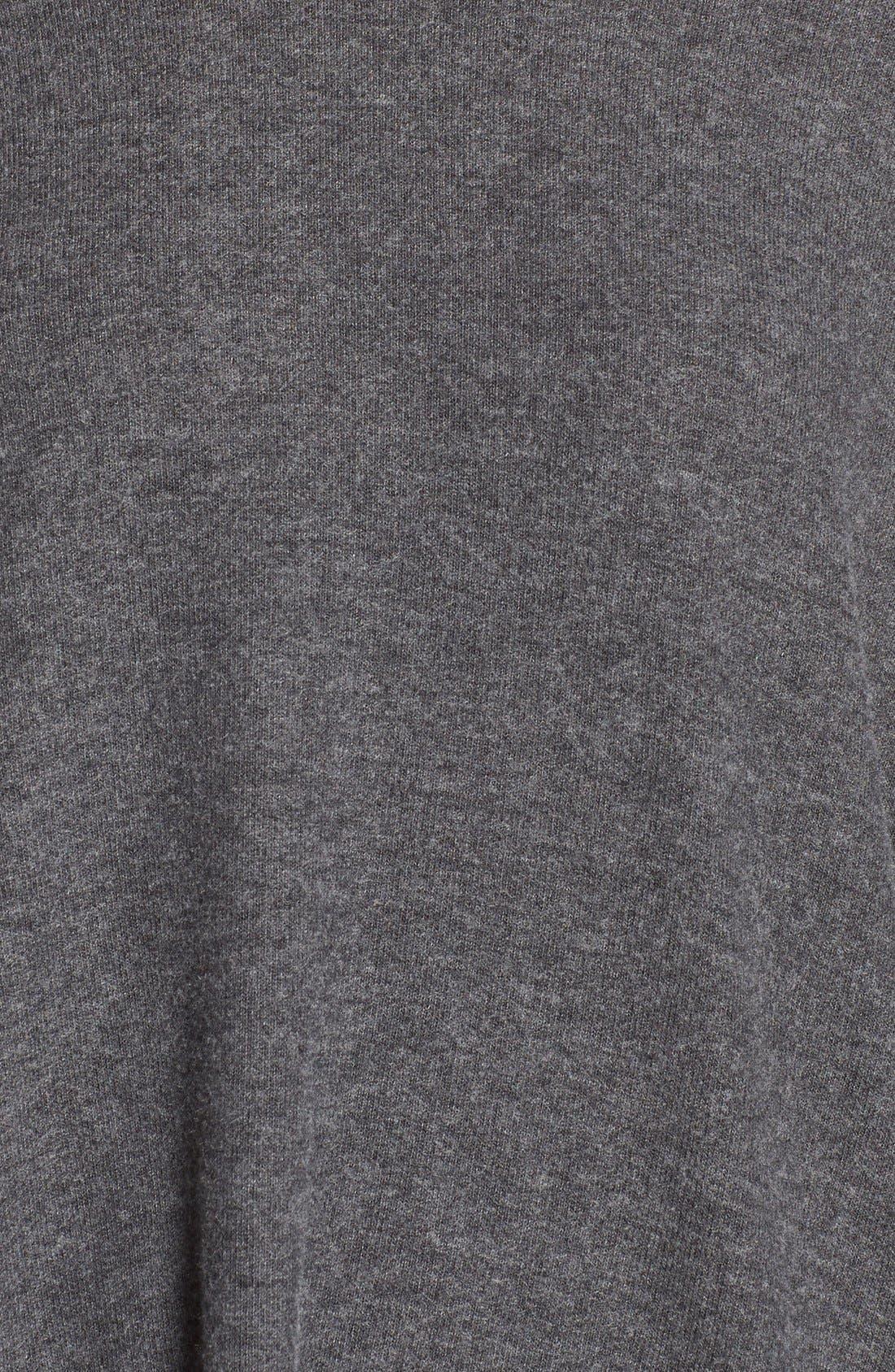 'Dash' Pullover Hoodie,                             Alternate thumbnail 5, color,                             Black