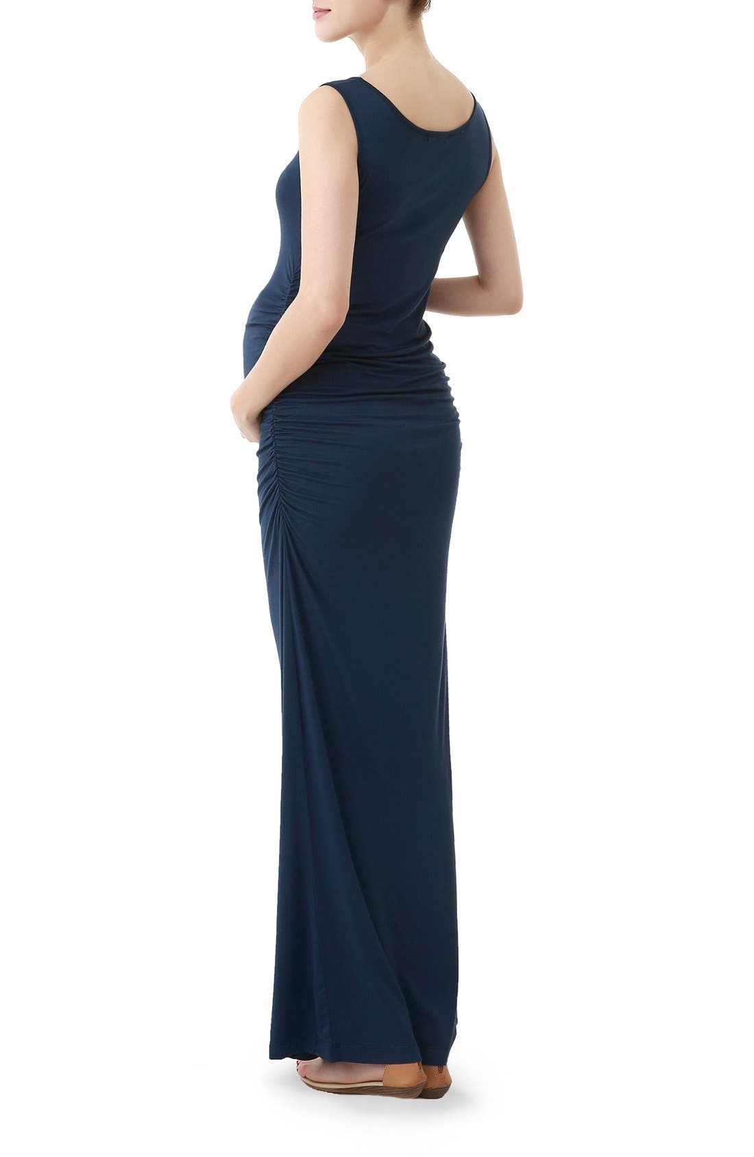 Alternate Image 2  - Kimi and Kai Maternity Maxi Tank Dress