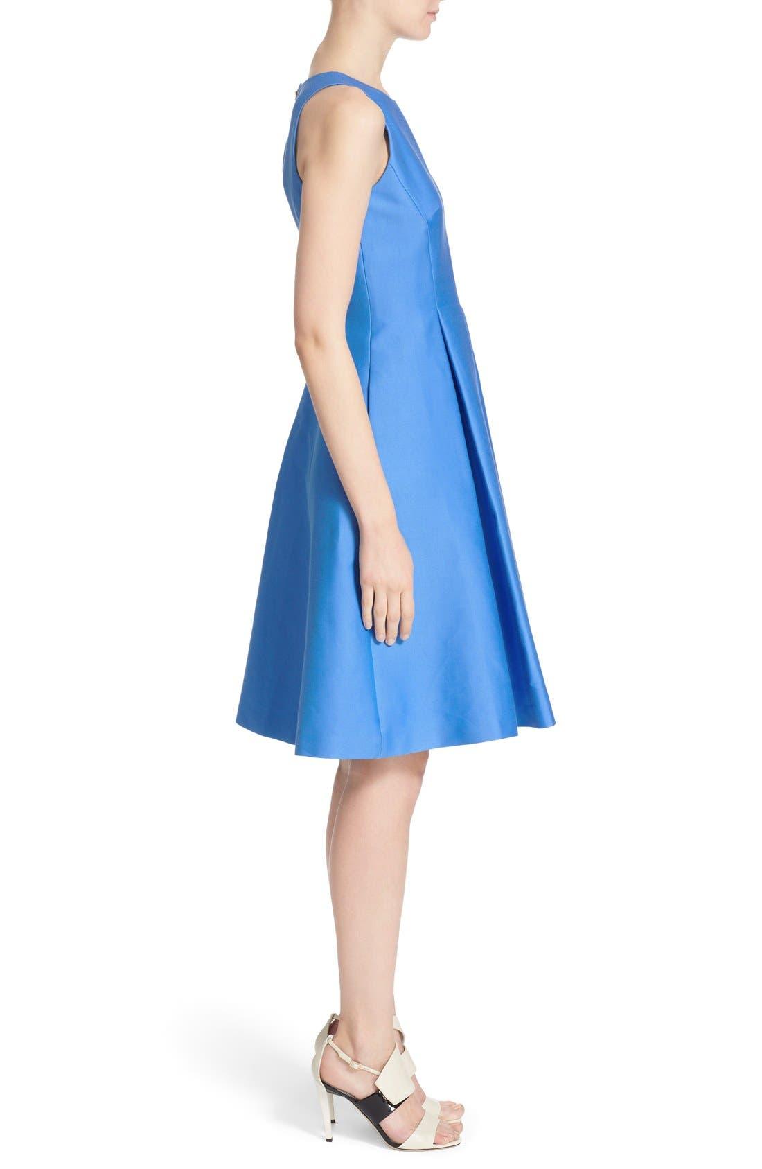 Alternate Image 3  - kate spade new york cotton silk fit & flare dress
