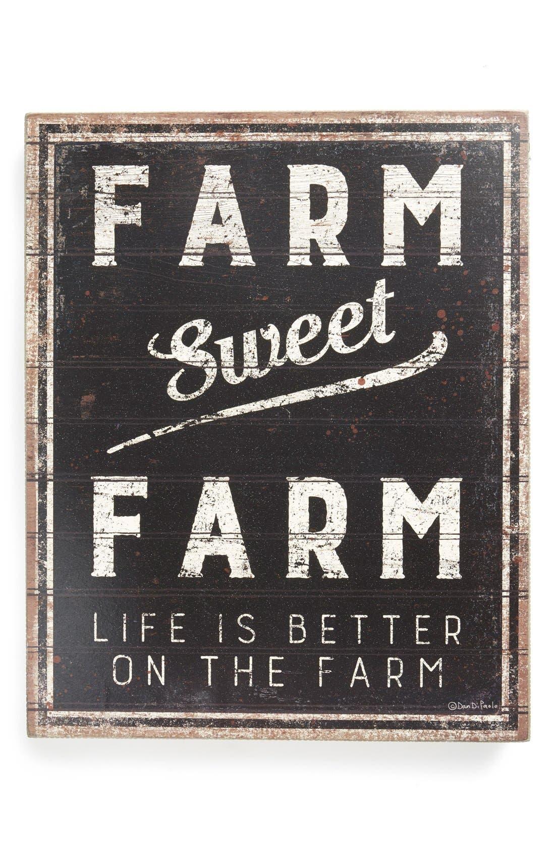 Main Image - Primitives by Kathy 'Farm Sweet Farm' Box Sign