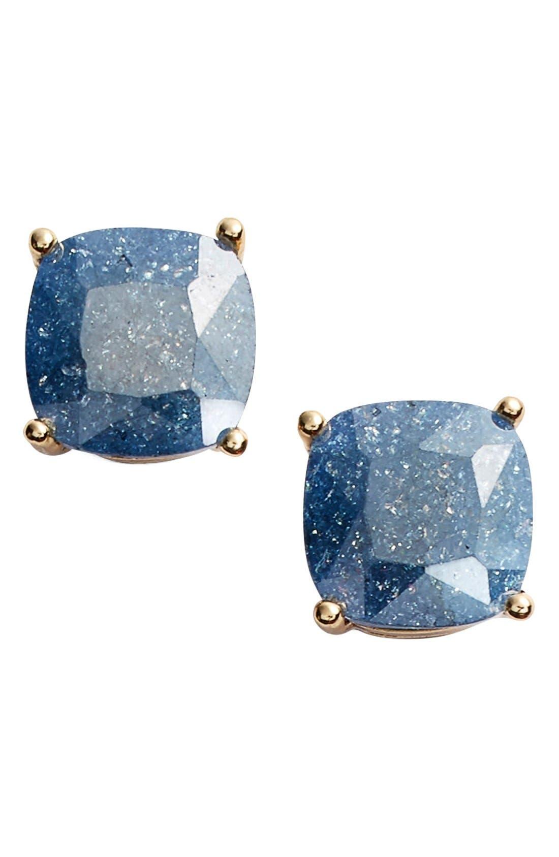 Main Image - kate spade new york mini square stud earrings