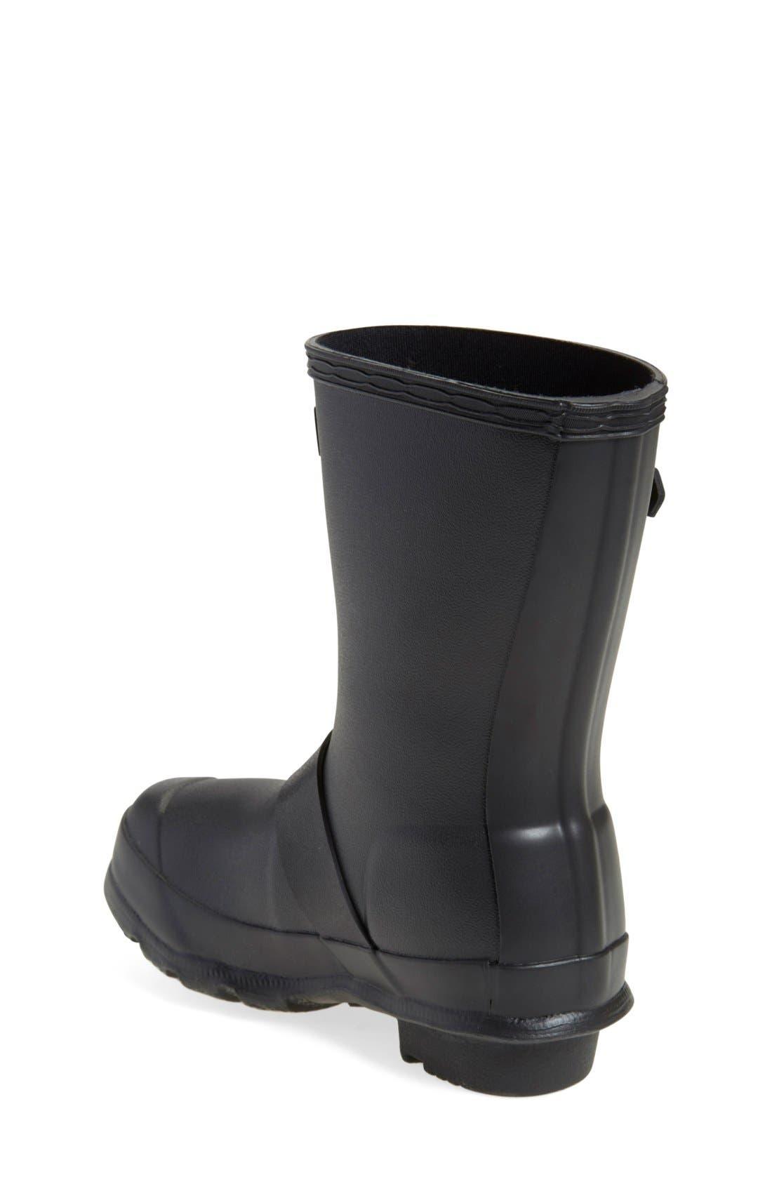 'Original Biker' Waterproof Rain Boot,                             Alternate thumbnail 2, color,                             Black