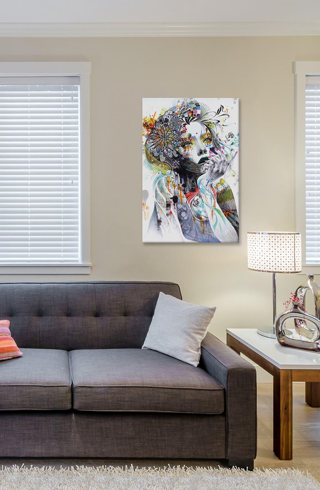 Alternate Image 2  - iCanvas 'Circulation' Giclée Print Canvas Art