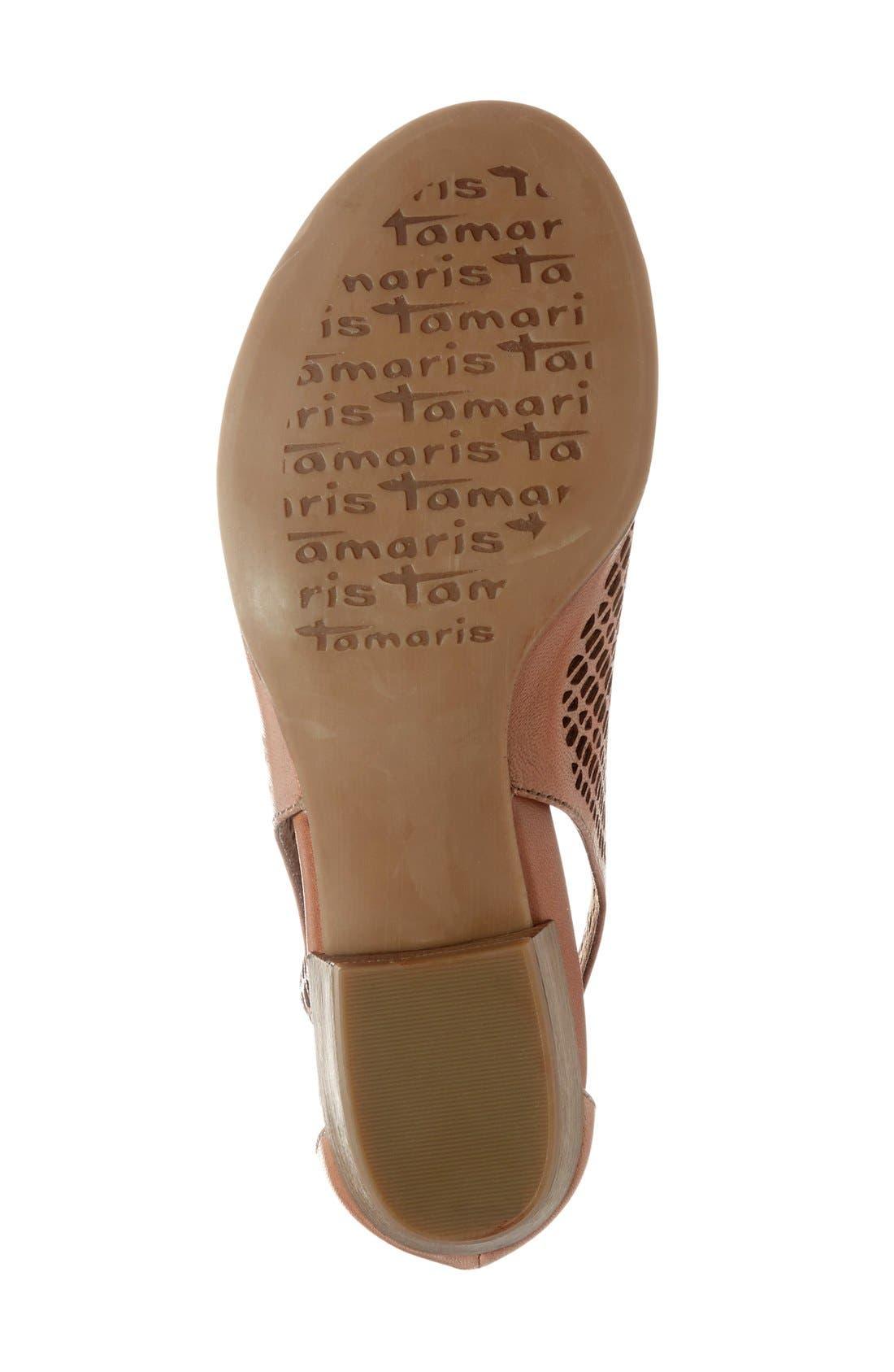 Alternate Image 4  - Tamaris 'Nao' Open Toe Sandal (Women)