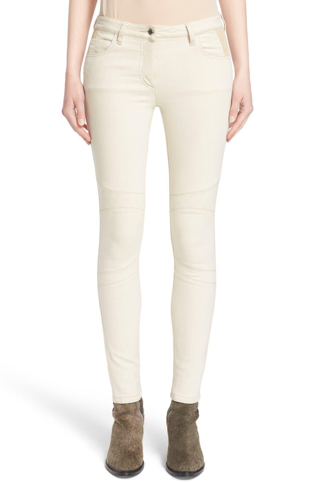 Main Image - Belstaff 'Byrds' Rib Trim Skinny Jeans