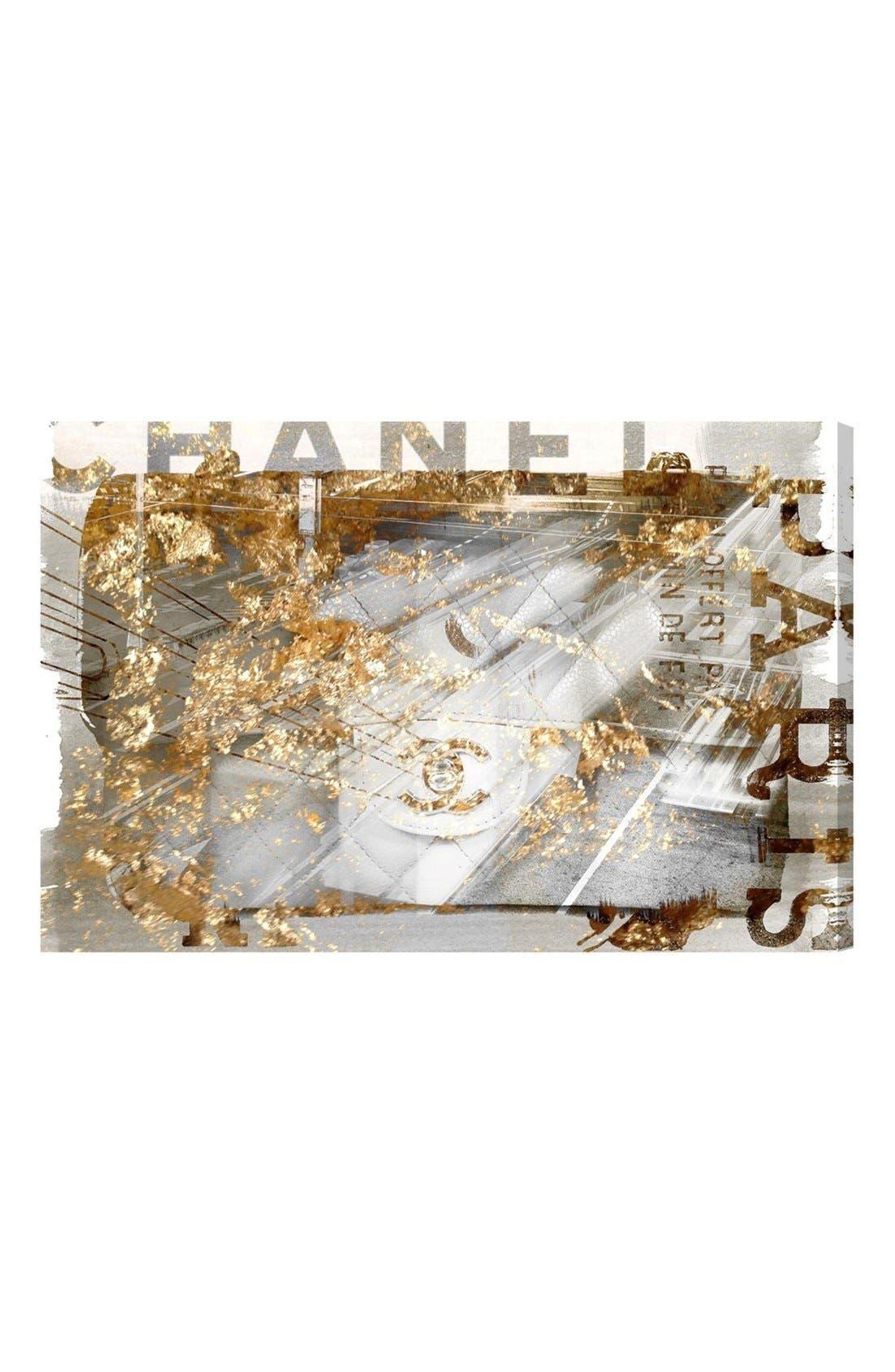 Oliver Gal 'No. 1 Bag' Canvas Wall Art