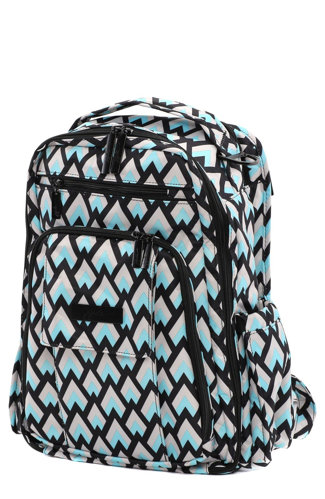 Alternate Image 1 Selected - Ju-Ju-Be 'Be Right Back - Onyx Collection' Diaper Backpack