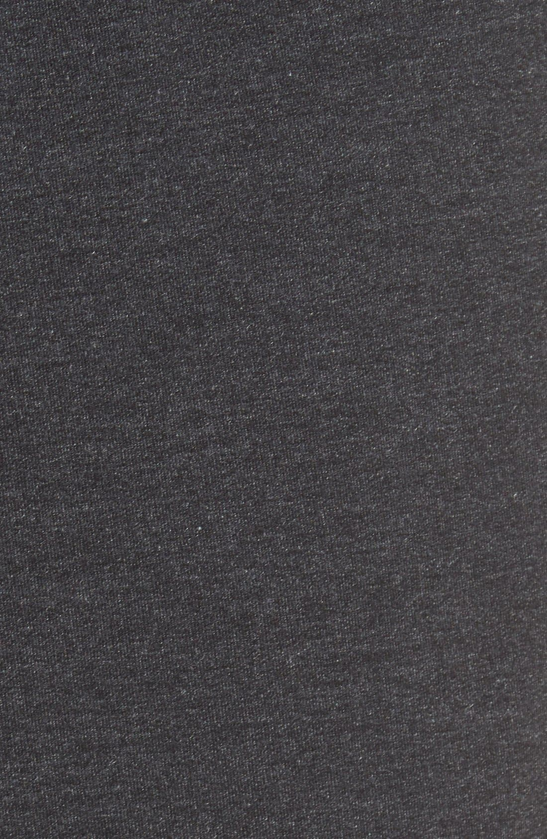 Dri-FIT Fleece Training Pants,                             Alternate thumbnail 5, color,                             Black/ Black