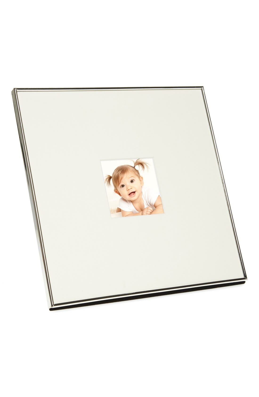 Matted Picture Frame,                         Main,                         color, Silver