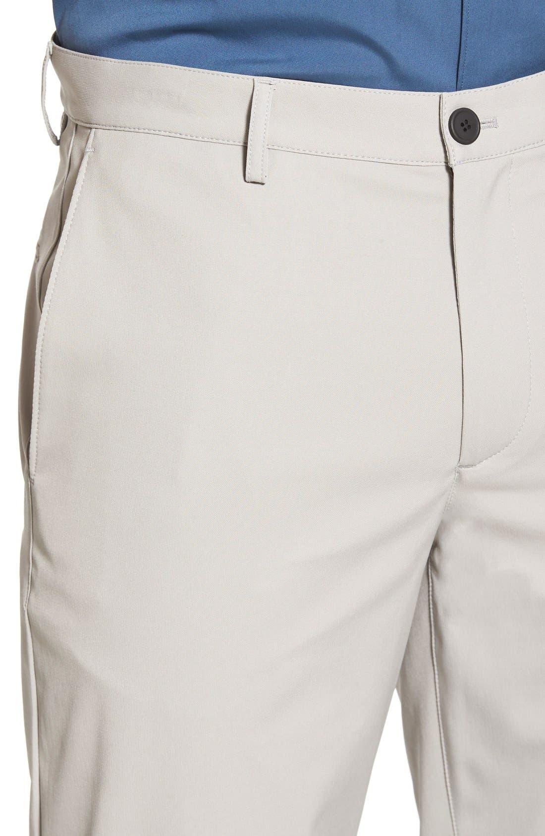 'Zaine Neoteric' Slim Fit Pants,                             Alternate thumbnail 4, color,                             Winter Sky