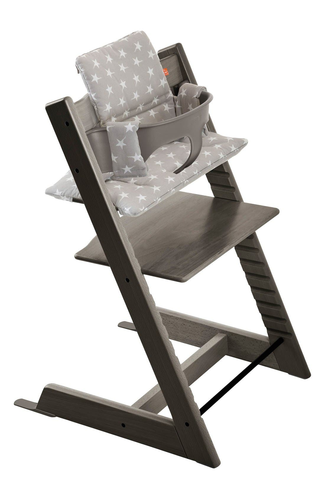 Main Image - Stokke 'Tripp Trapp®' Chair, Baby Set, Cushion & Tray Set (Nordstrom Exclusive)