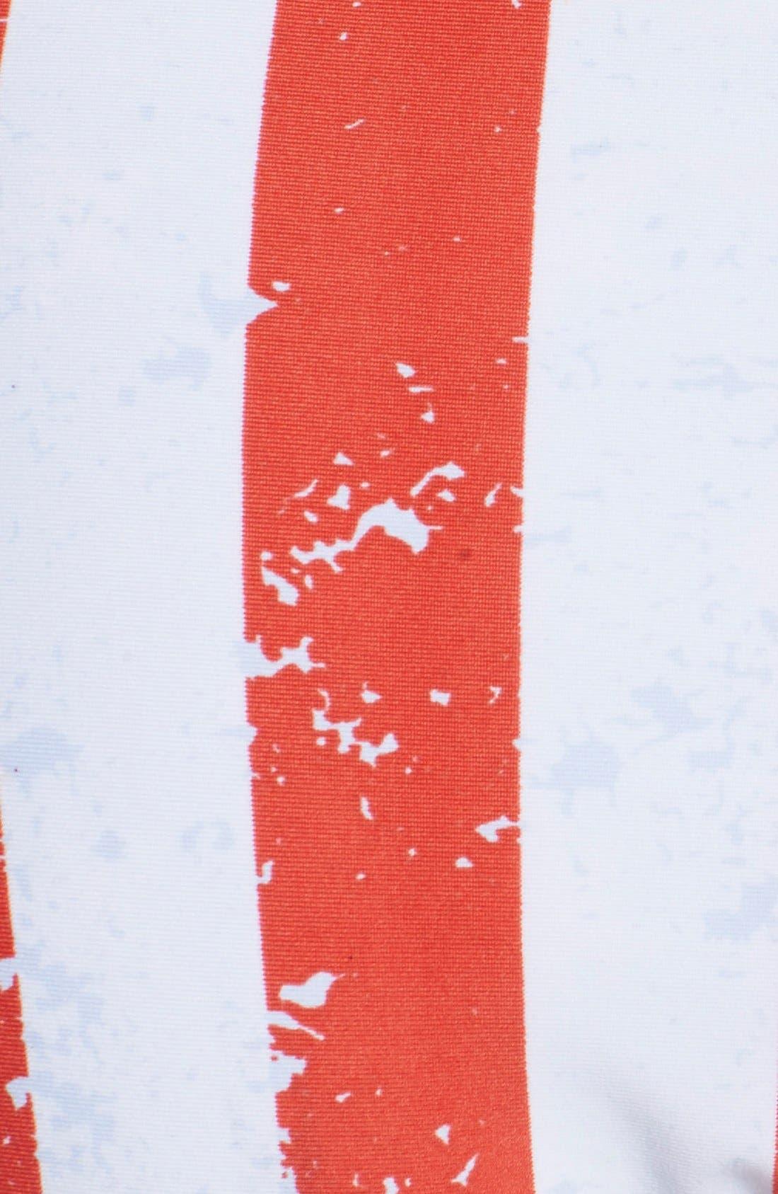 'American Flag - Red, White & You' Reversible Bikini Bottoms,                             Alternate thumbnail 6, color,                             Blue Multi
