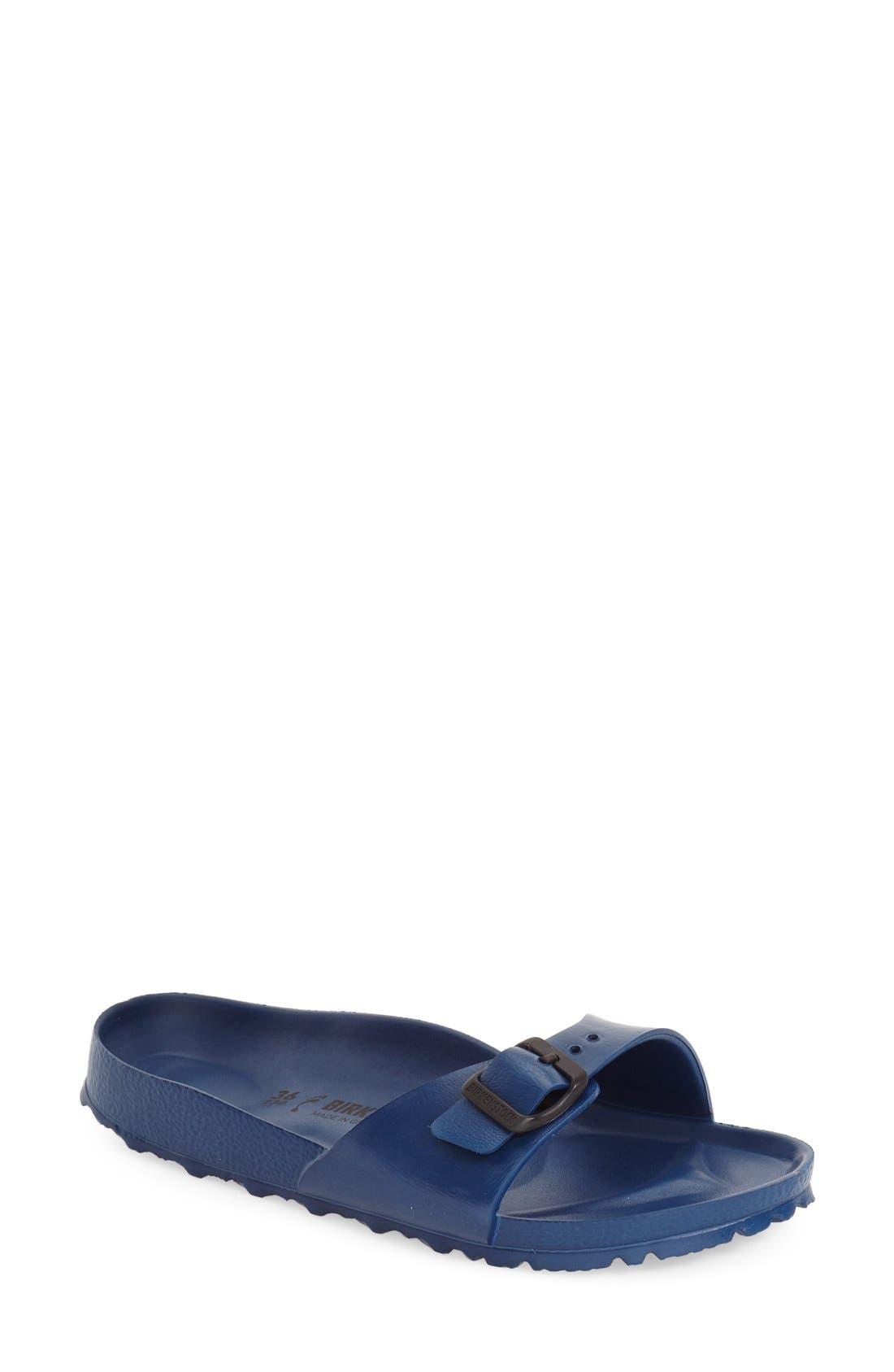 'Essentials - Madrid' Slide Sandal,                         Main,                         color, Navy Eva