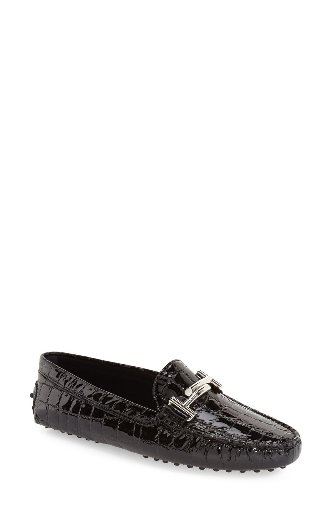 'Double T' Bit Loafer (Women)