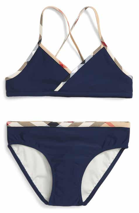 c5e9d05b3129d Burberry  Crosby  Two-Piece Swimsuit (Little Girls   Big Girls)