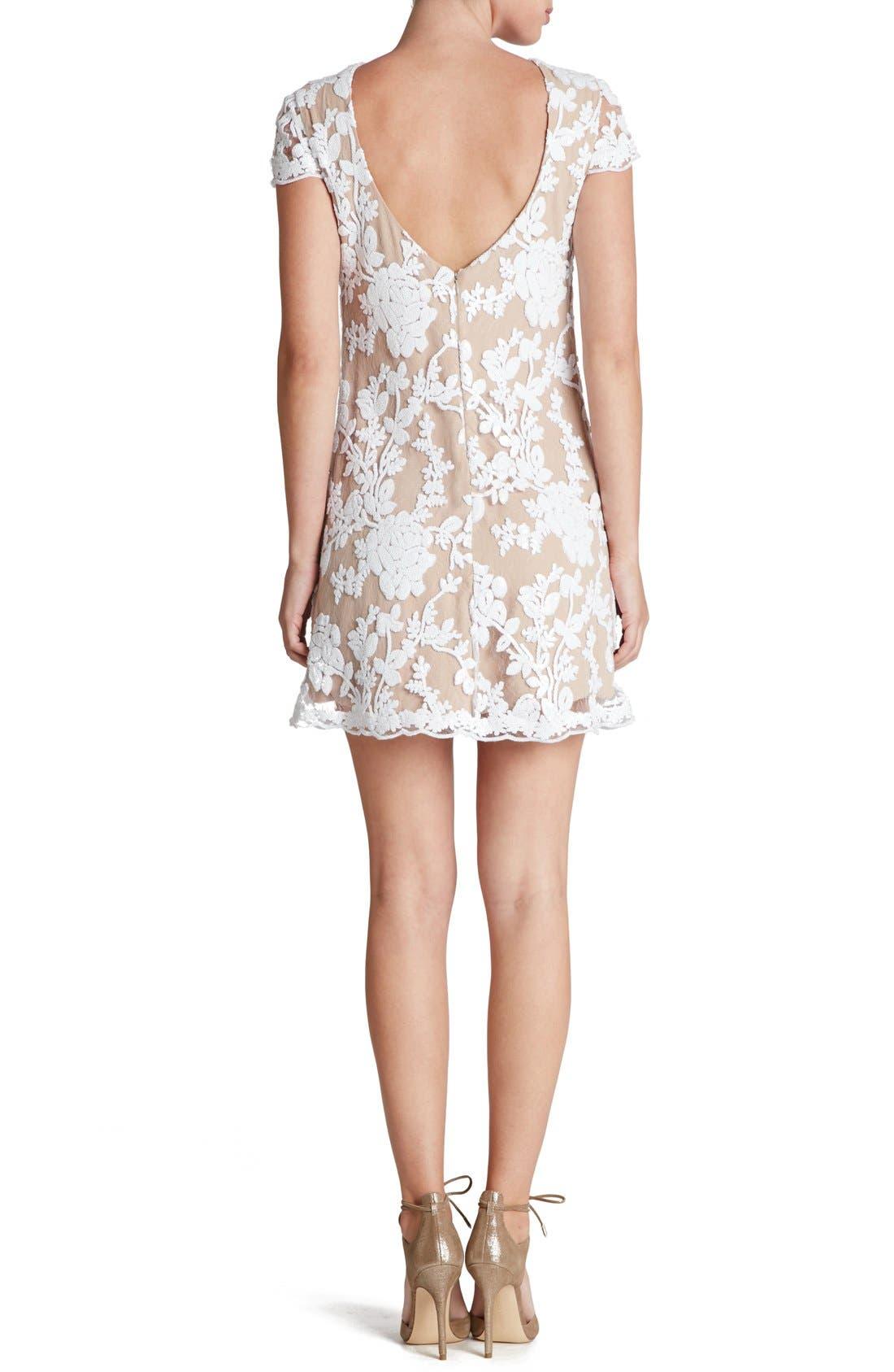 Alternate Image 2  - Dress the Population 'Hope' Lace Sheath Dress