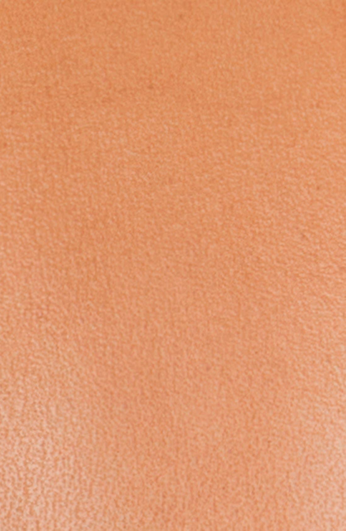 Reversible Hibiscus Print Leather Belt,                             Alternate thumbnail 2, color,                             Tan