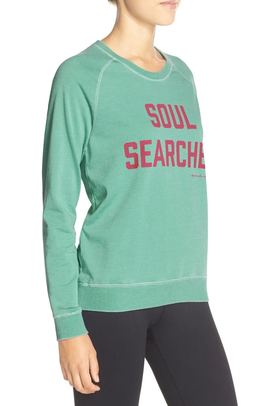 Alternate Image 3  - Spiritual Gangster 'Soul Searcher' Sweatshirt