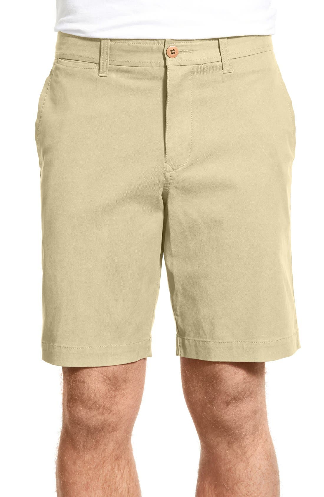 Alternate Image 1 Selected - Tommy Bahama 'Offshore' Flat Front Shorts