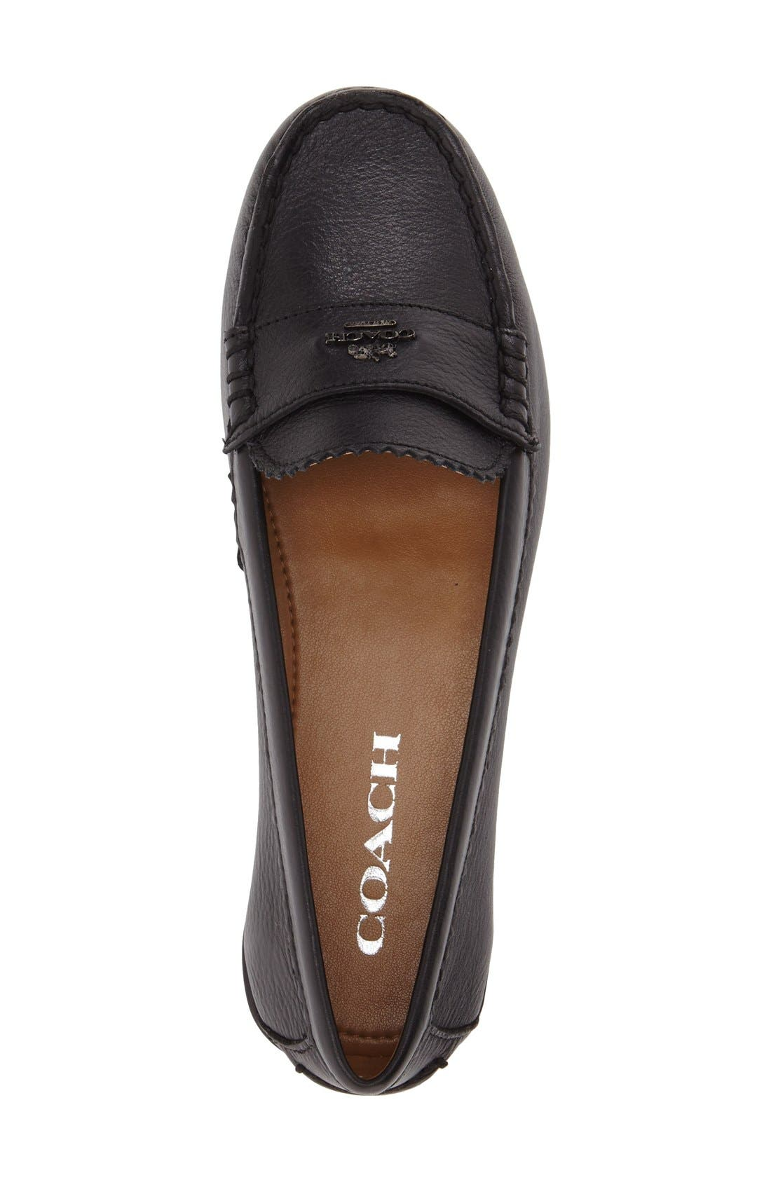 Alternate Image 3  - COACH 'Odette' Moccasin Loafer (Women)