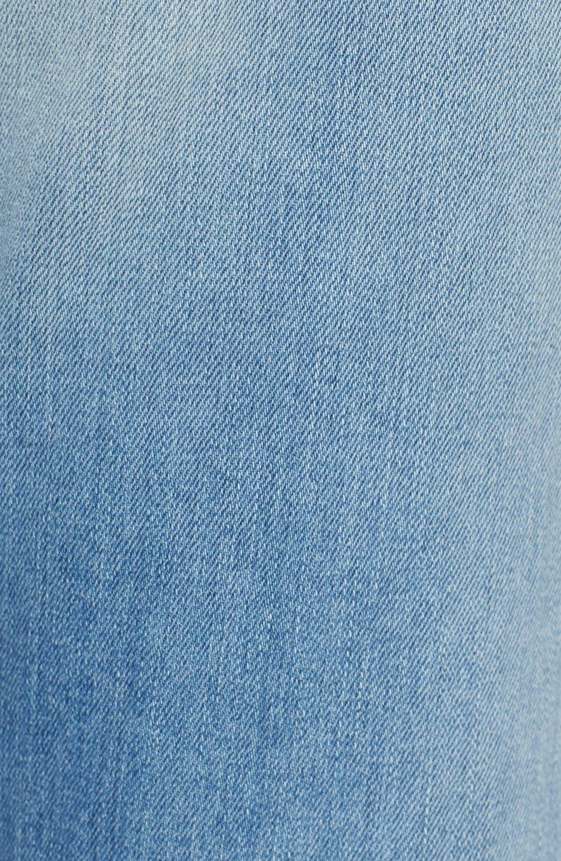 Alternate Image 5  - rag & bone/JEAN 'Beach' High Rise Bell Bottom Jeans (Ryder)