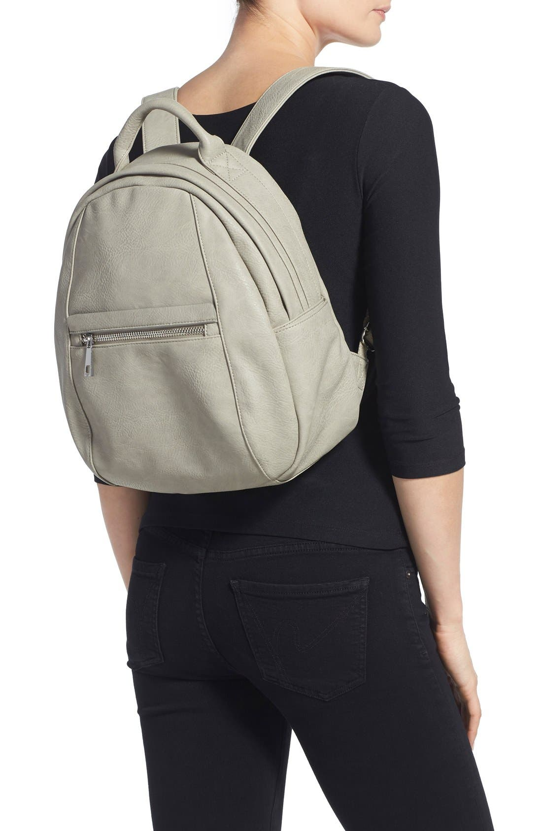 Alternate Image 2  - BP. Faux Leather Backpack