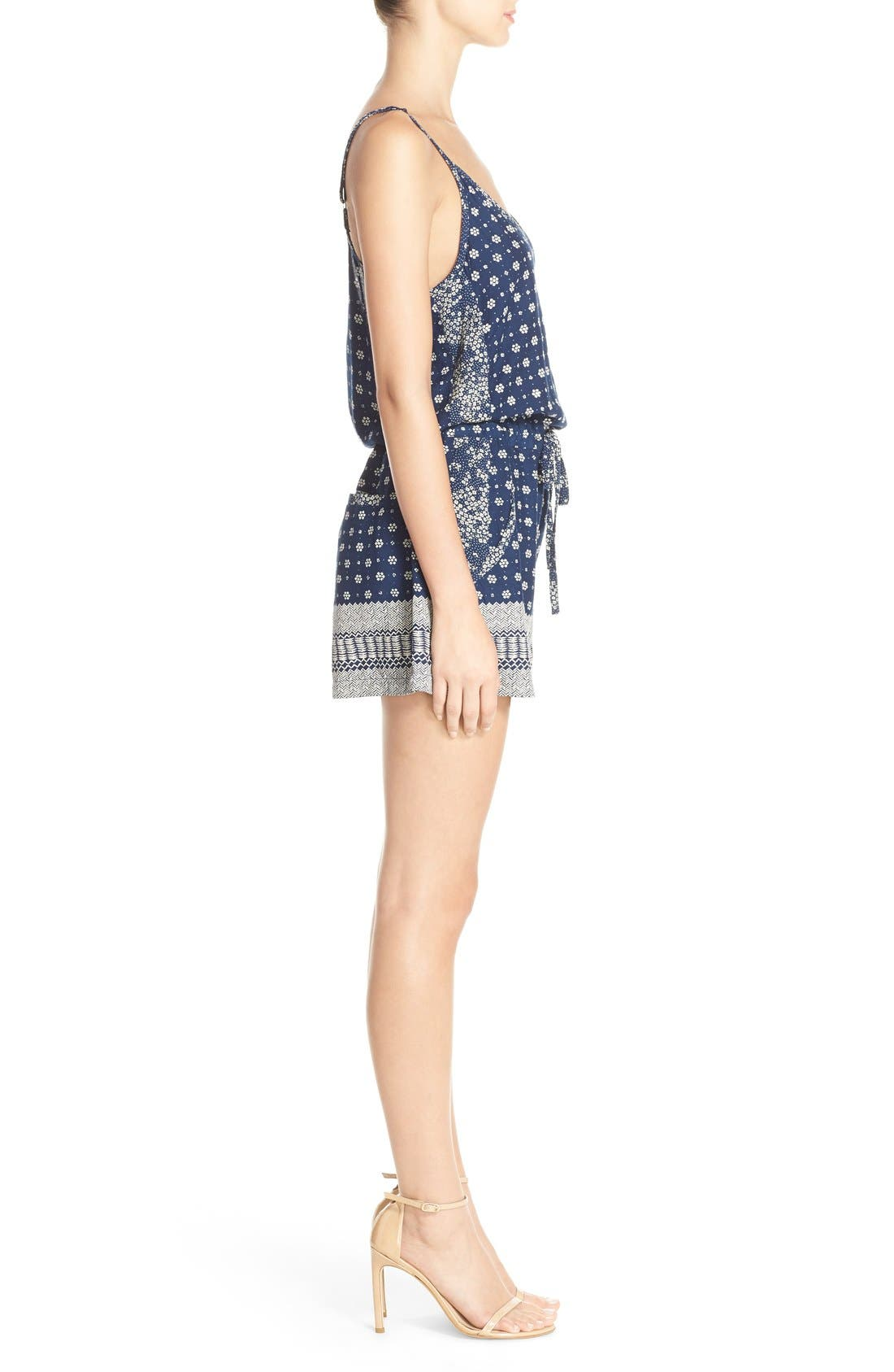 Alternate Image 3  - French Connection 'Castaway' Floral Print Romper